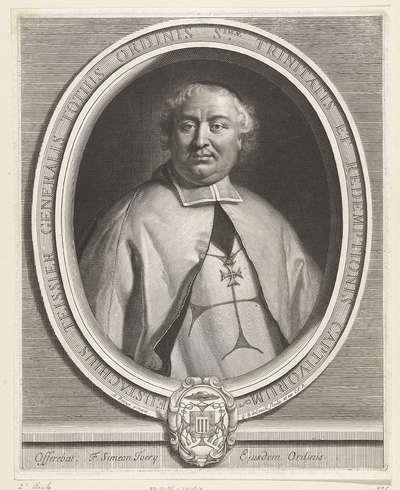 Portret van Eustache Teissier