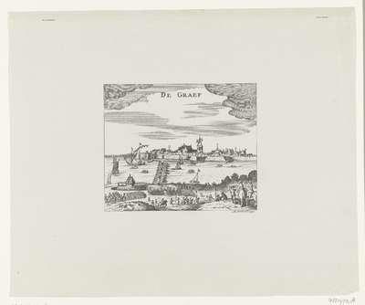 Schutterij van Leiden trekt op naar Grave, 1622; De Graef