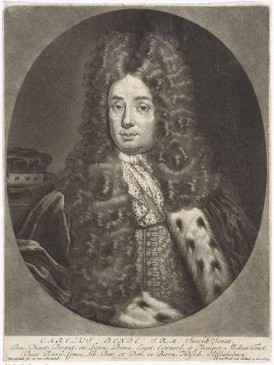 Portret van Karl von Biorn Bonde
