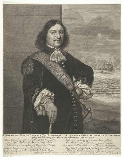 Portret van Aert Jansz. van Nes
