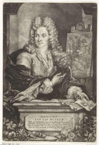 Portret van Jan van Huysum