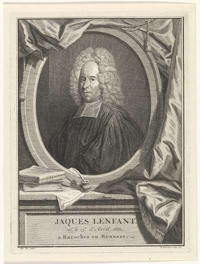 Portret van Jacques Lenfant