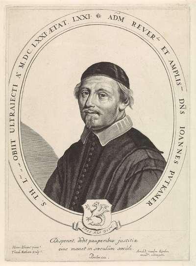 Portret van Johan Putkamer