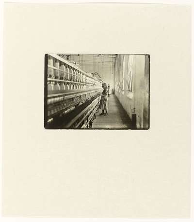 Image from object titled Sadie Pfeiffer, Spinner in a Cotton Mill
