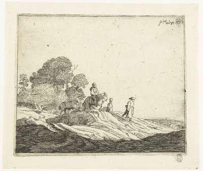 Landschap met paarden; Vier landschappen