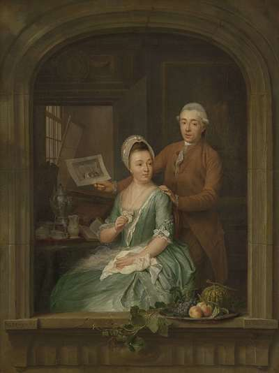 Image from object titled Portrait of Robert Muys and his Wife Maria Nozeman