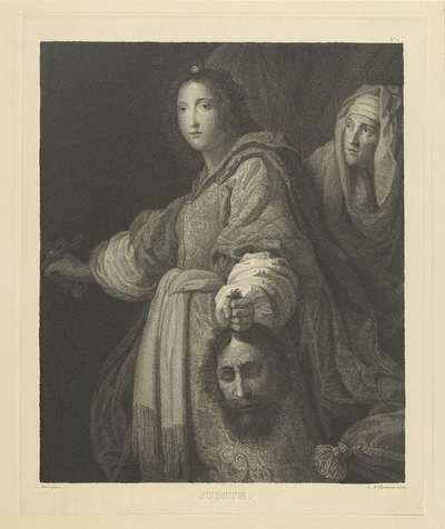 Judith met het hoofd van Holofernes