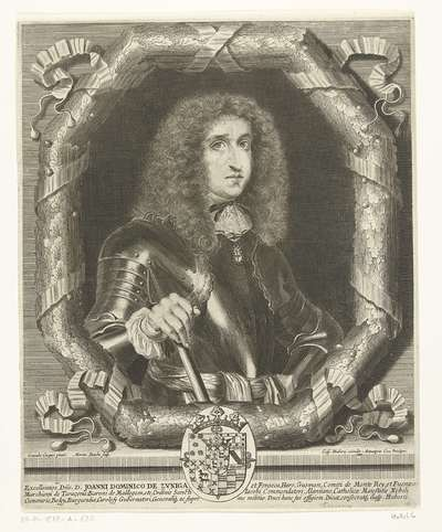 Portret van Johannes Dominicus van Zuniga en Fonseca