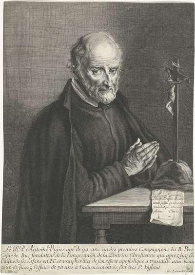 Portret van Antonie Vigier