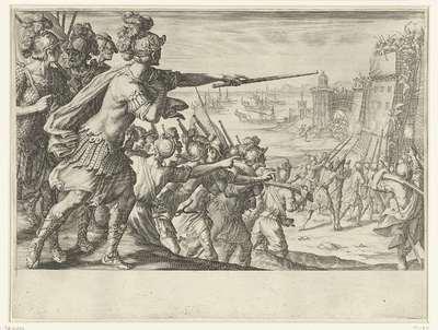 Aanval van de troepen van Ferdinando I de' Medici op de Noord-Afrikaanse stad Bone (Annaba); Leven van Ferdinando I de' Medici