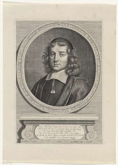 Portret van Frederik Rastat van Weilo