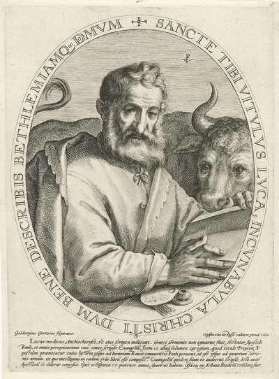 Evangelist Lucas; De vier evangelisten
