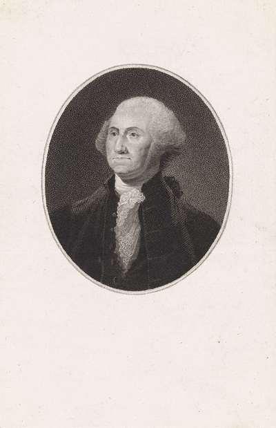 Portret van George Washington, eerste president van de Verenigde Staten
