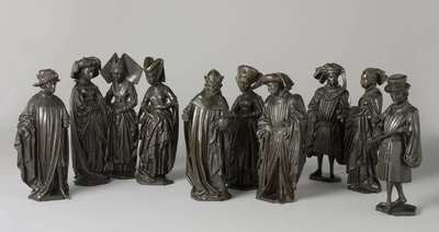 Image from object titled Weepers from the tomb of Isabella of Bourbon