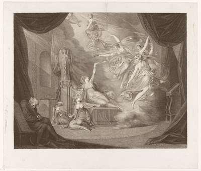 Droom van Koningin Katharina; Macklins Britse dichters