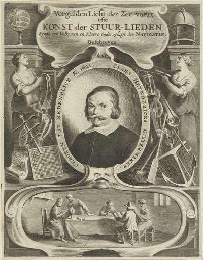 Titelpagina voor: C.H. Gietermaker, Konst der Stuur-lieden, 1697