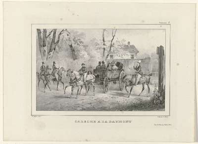Voitures.5., ca. 1836: Caleche a la Daumont