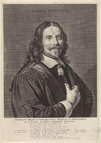 Portret van Henricus Regius