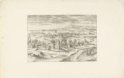 Landschap met een boerenhoeve; Landschappen rond Antwerpen
