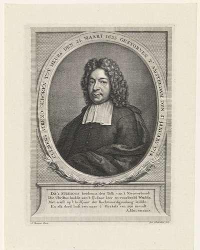 Portret van Clemens Streso