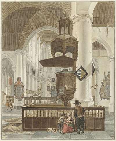 De Grote Kerk te 's-Gravenhage