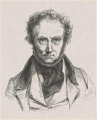 Portret van I.J. van Regemorter