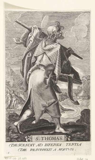 Apostel Tomas; S. Thomas; Christus en twaalf apostelen