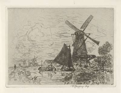 Molens bij Rotterdam