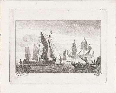 Zeilschepen op het water