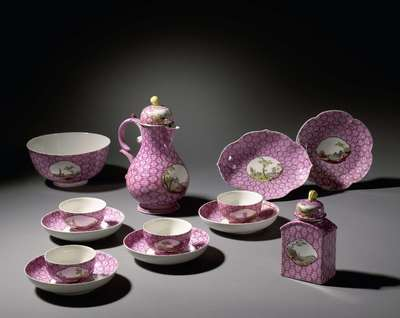 Image from object titled Part of a coffee and tea service