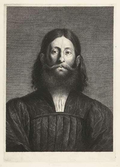 Portret van schilder Giorgione; Caelaturae