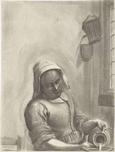 Het melkmeisje