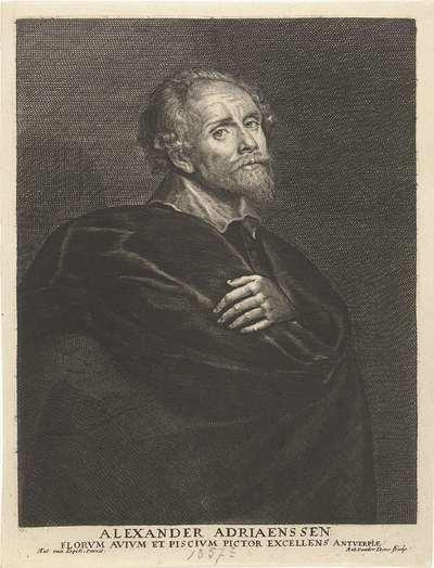 Portret van Alexander Adriaensen