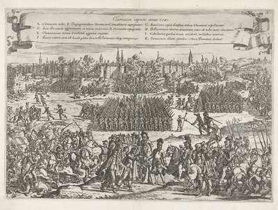 Inname van Doornik, 1581; Tornacum captum anno 1581