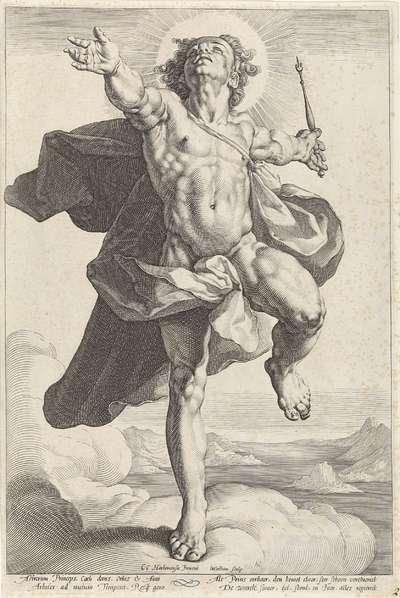 Apollo als Helios; Diana en Apollo als Luna en Helios