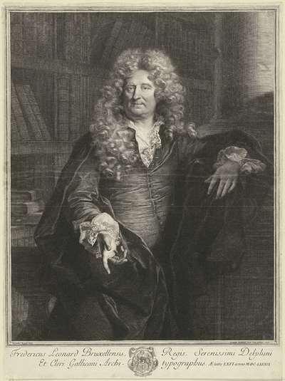 Portret van Frédéric Leonard