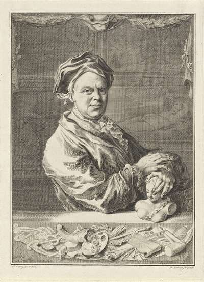 Image from object titled Portret van Gerrit Braamcamp