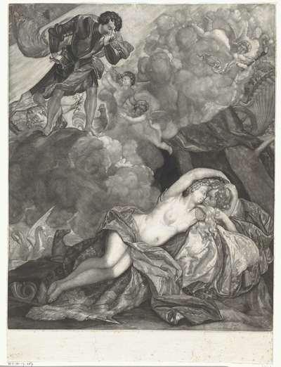 Venus en Mars door Apollo verrast