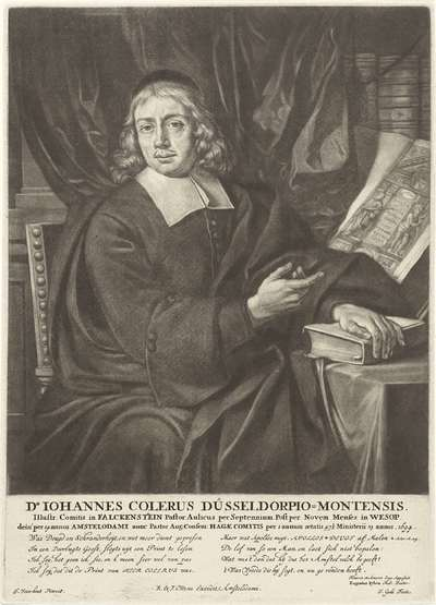 Portret van Johannes Colerus