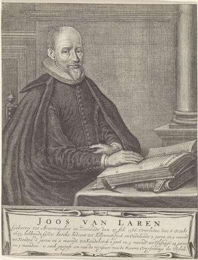 Portret van Joost van Laren