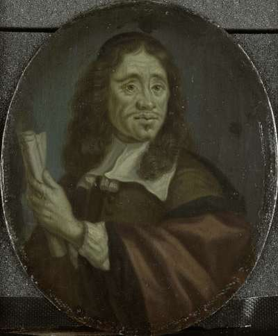 Image from object titled Jan Vos (c. 1620-67), Amsterdam poet
