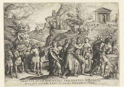 Triomf van de Liefde; Zes triomfen van Petrarca