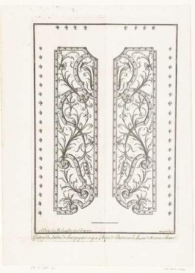 Parterre van tuin van Savigny; Tuinen met parterres