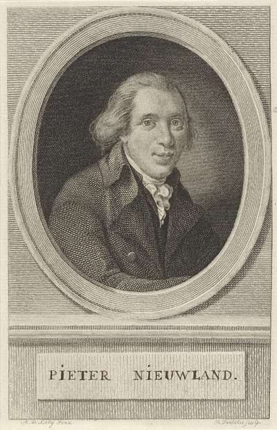 Portret van Pieter Nieuwland