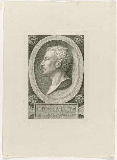 Portret Johann Joachim Winckelmann