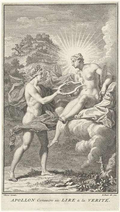 Apollo en Waarheid; Apollon Consacre sa Lire à la Verité