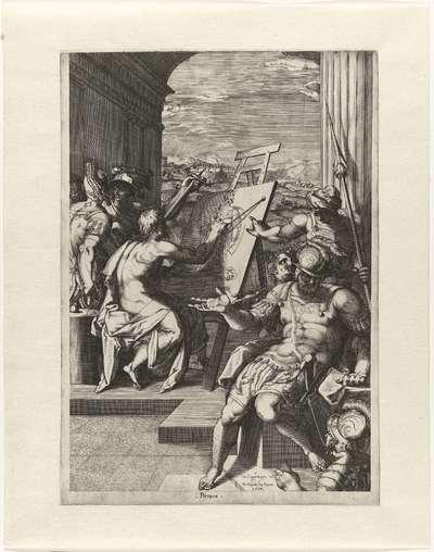 Allegorie op de schilderkunst; Pittura