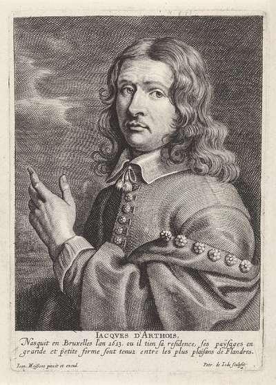 Portret van Jacques d'Arthois