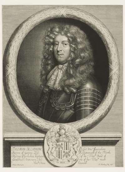 Portret van Thomas Belasyse