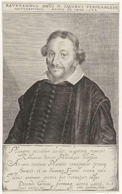 Portret Jacobus Verplancken
